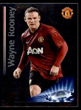Panini Champions League 2012-2013 Rooney - Key Player Manchester United No.533