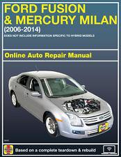 2012 Ford Fusion Haynes Online Repair Manual-Select Access