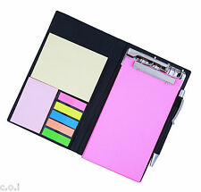 COI MEMO NOTE PAD/MEMO NOTE BOOK WITH STICKY NOTES & CLIP HOLDER IN DIARY STYLE