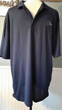 Ducks Unlimited Men's L Polo Shirt Dusk Blue Short Sleeve Golf Fishing Hunting