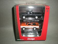 1/64th Greenlight Dodge Pickup Truck Factrory 2 Pack