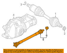 BMW OEM 11-18 X5-Front Drive Shaft 26208605866