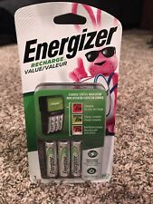 Energizer Chvcmwb-4 Rechargeable Aa and Aaa Battery Charger Brand New Sealed!
