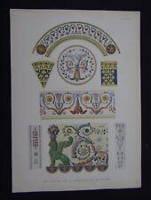 PLANCHE 6 Cartons Manufacture de Sèvres Porcelaine Porzellan porcelain