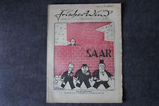 alte Zeitschrift Nr. 19 Frischer Wind 2.Jahrgang 15. Januar 1947