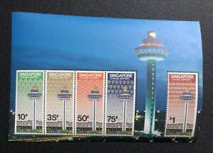 Singapore Stamps M/S - 1981 Singapore Changi Airport