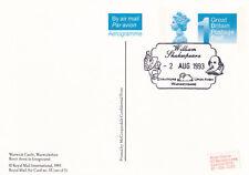 (23356) GB Aircard FDI Prepaid  Warwick Shakespeare Stratford 1993