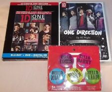 One Direction: This Is Us Blu-ray+DVD/Up All Night Live Tour DVD Plus Buttons