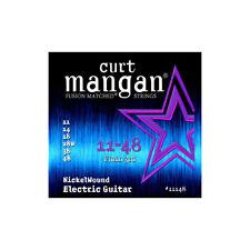 Curt Mangan 11-48 Nickel Wound Cordes pour guitare électrique