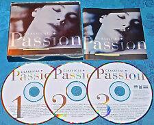 Classical Passion 3 CD Box Set Time Life Ravel Bolero Marcello Oboe in D MUSIC