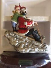 1990 Emmett Kelly Spirit of Christmas Viii Porcelain Figurine Limited 1903/3500