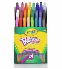 Crayola Twistables Mini Crayons 24 ea (Pack of 6)