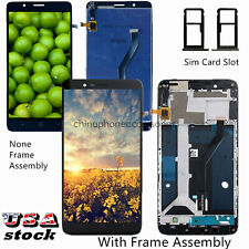 Fit For ZTE Blade Z Max丨Zmax Pro 2丨 Z982 LCD Touch Screen Digitizer ±Frame