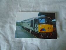 6x4 Photo of Class 33-33063 at Loughborough Central GCR