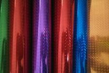 Auto Adhesivo Artesanía Papel, a4 6 Hojas Holográfico 3d Brillo, álbum de recortes, pegajoso