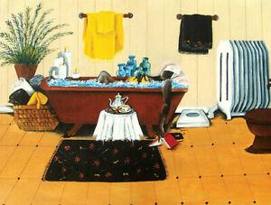 Steepin N Soakin - 500 Piece Puzzle - Annie Lee