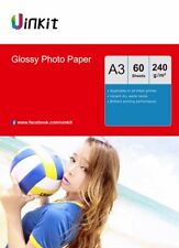 A3 Inkjet Paper Photography Printing Photo Paper High Glossy 240gsm - 60 Sheets