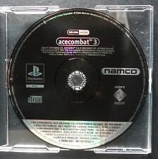 promo ACE COMBAT 3 PlayStation UK PAL・♔・pre-release full game SIM NAMCO PS1 PS2