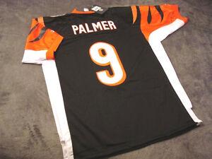 CARSON PALMER #9 - Bengals (Joe Burrow) Black NFL Jersey --- ALL SIZES