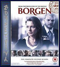 BORGEN - COMPLETE SERIES 2 *BRAND NEW DVD *