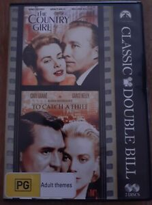 The Country Girl / To Catch A Thief 2 DVD set. Grace Kelly. Hitchcock.