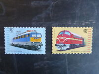 2013 HUNGARY LOCOMOTIVES 'SZILI' & 'NOHAB' SET 2 MINT STAMPS MNH