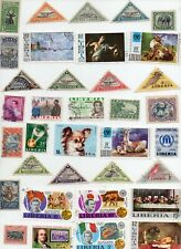 LIBERIA Stamps 36 Off Paper - All Different