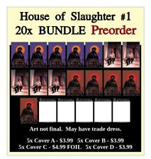 HOUSE OF SLAUGHTER #1 5X EACH: Cover A, B, C, & D 💥 Spec Pack 💥 10/27 PreSale