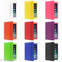 LUXURY SMART PU LEATHER CASE COVER WALLET WITH STAND FOR APPLE IPAD MINI / AIR 2