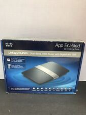LINKSYS Cisco EA4500 Wi-Fi Home Base, Dual-Band N900 Router New Open Box