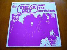 THE MORTICIANS Freak Out UK FUZZ GARAGE PSYCHEDELIA 1987 LTD/# ORIGINAL LP