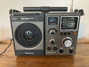 Working Panasonic Model RF-1170 uhf psb fm am Matsushita japan radio