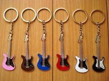 Keychain Electric Guitar (one piece)