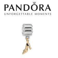 Pandora charm originale pendente scarpetta cenerentola oro .Raro!!!