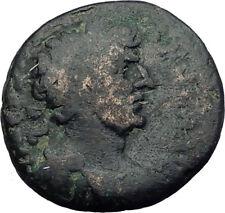 HADRIAN 117AD Caesarea Maritima in Judaea RARE Ancient Roman Coin Tyche i64137