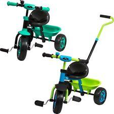 Kinder Dreirad BERRY mit Schiebe Stange Kind Lauf Rad Fahrzeug Dreiräder Roller