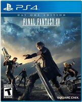 PLAYSTATION 4 PS4 VIDEO GAME FINAL FANTASY XV DAY ONE EDITION BRAND NEW SEALED