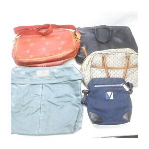 LouisVuitton PVC Fablic Damier Infini Shoulder/Hand Bag 5pc set Junk 525427