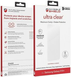 Zagg Invisible Shield Ultra Clear Screen Protector for Samsung Galaxy S10 Plus