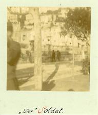 Monaco, Un Soldat Monégasque  Vintage albumin print Tirage albuminé  8x8
