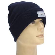 Navy Blue 5-LED Light Headlamp Cap Beanie Hat For Hunting Camping Running HOT