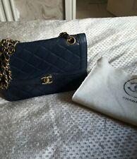 Blue Vintage Chanel 2.55 Bag