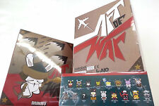 Dunny ART of WAR CASE of 20 by Kidrobot SEALED NEW mini Vinyl series