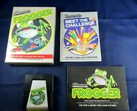 Frogger Atari 2600 Game Cartridge Complete In Box With Manual Parker Brothers