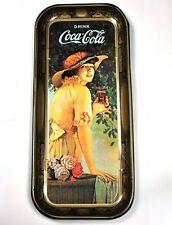 Hermoso Coca-Cola Coke Metal de hoja Bandeja EE.UU. Bandeja de servir 49
