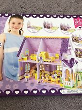 Pretty Purple Dollhouse 3-D Puzzle/Dollhouse