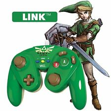 New PDP Fight Pad Controller for Nintendo Wii or Wii U - LINK (Zelda)