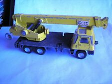 DINKY TOYS  -  980  -   Coles Hydra Truck 150T   -  Spares or Repair