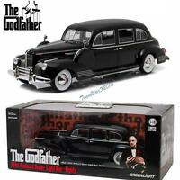 GREENLIGHT 1941 PACKARD SUPER EIGHT ONE-EIGHTY 1972 THE GODFATHER 1:18 NEW!!