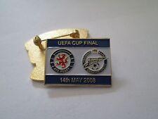 a1 GLASGOW - ZENIT final cup uefa europa league 2008 spilla football pins